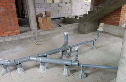 Монтаж канализации в коттедже под ключ Истра