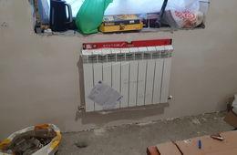 Монтаж радиатора отопления в частном доме Истра
