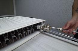 Монтаж радиаторов отопления с нижней подводкой Истра