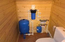 Монтаж водоснабжения в частном доме Истра
