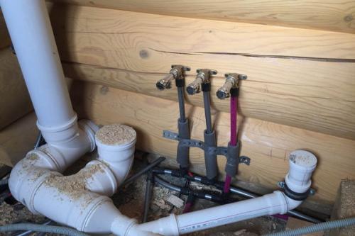 Монтаж канализации в частном доме в Истре