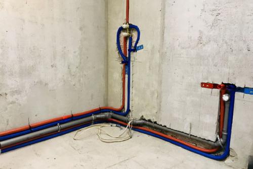 Разводка труб водоснабжения в Истре