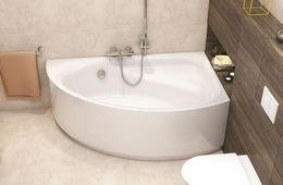 Монтаж угловой ванны Истра