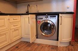 Установка встраиваемой стиральной машины Истра