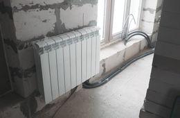 Замена радиаторов отопления в квартире Истра